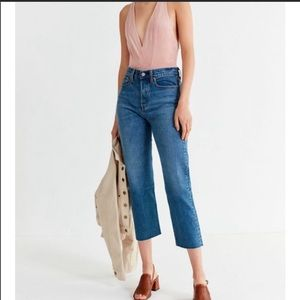 NWT Levi's Wedgie Fit straight leg mom  jeans